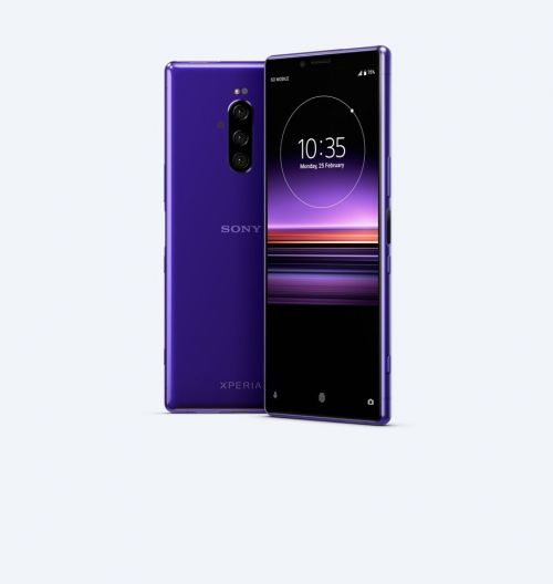 Sony Xperia 1 128GB Purple Smartphone