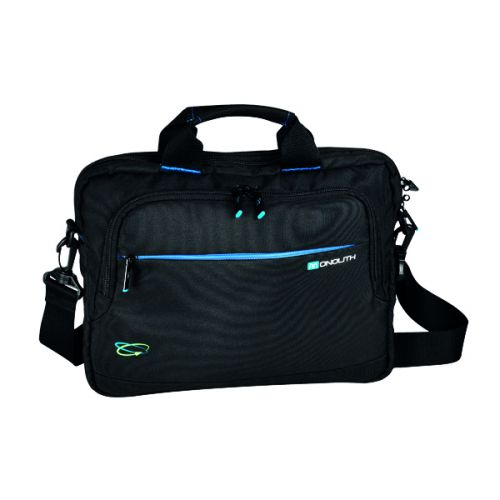 Monolith Blue Line Chrome Briefcase 13.3in