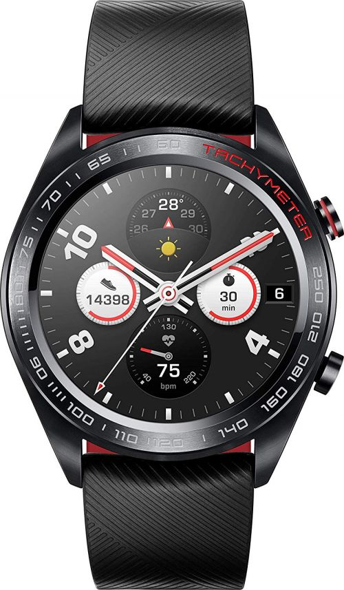 Honor Watch Magic 1.2in Black and Red