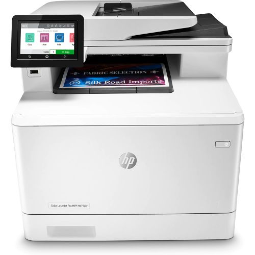 HP Color LaserJet Pro M479DW Multifunction Duplex Wireless Printer W1A77A#B19
