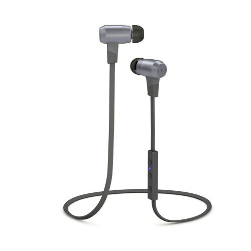 NuForce BE6 Grey Bluetooth Earphones