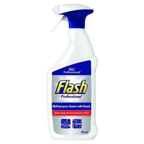 Flash Professional Spray Clean and Bleach 750ml Ref C001850