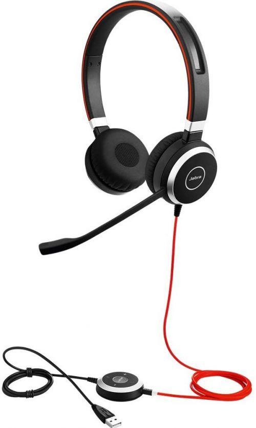 Jabra Evolve 40 UC Stereo Noise Cancelling Headset