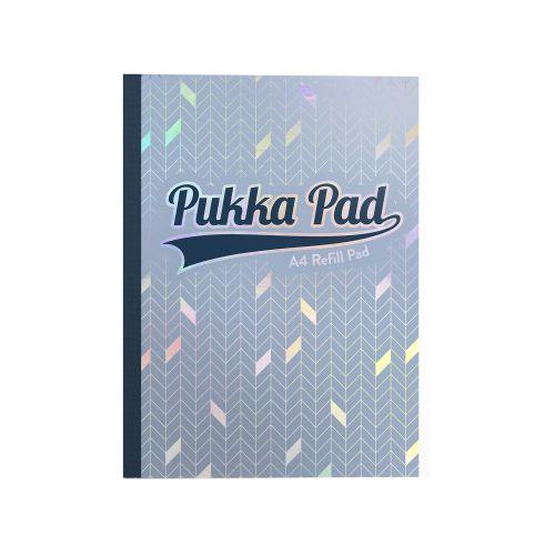 Pukka Glee Refill Pad A4 400P Light Blue (Pack 5)