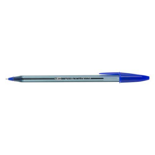 Bic Cristal Exact Ballpoint Pen Ultra Fine Point 0.7mm Blue 992605 [Box 20]