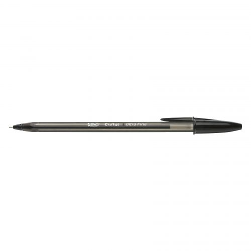 Bic Cristal Exact Ballpoint Pen Ultra Fine Point 0.7mm Black 992603 [Box 20]