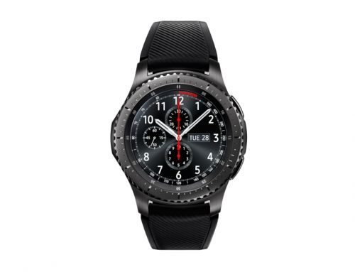Samsung Gear S3 Frontier Dark Grey