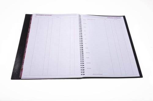 Collins 2021 Leadership Diary Week to View Wirobound A4 297x210mm Black Ref CP6740 2021