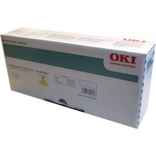 OEM OKI 44318617 Yellow 11500 Pages Original Toner