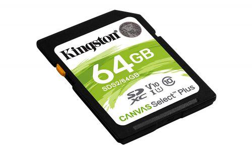 64GB Canvas Select Plus C10 UHSI SDXC