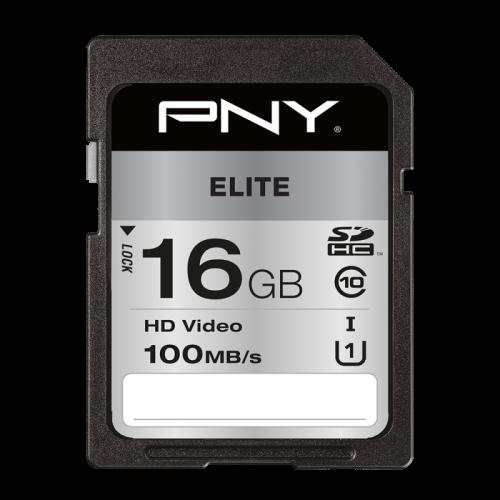 PNY 16GB High Elite CL10 UHS1 SDHC