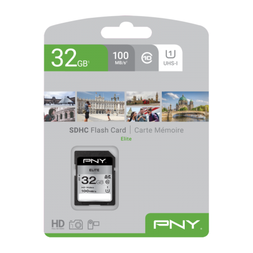 PNY 32GB High Elite CL10 UHS1 SDHC
