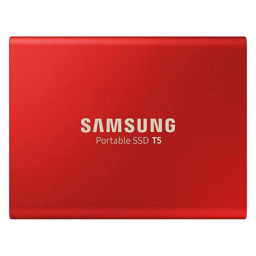 T5 1TB Metallic Red USB3.1 Gen2 Ext SSD