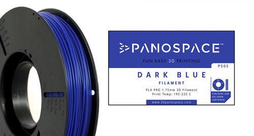 Panospace Filament PLA 1.75mm 326g Blue PS-PLA175BLU0326 by Panospace, PAN00705