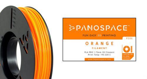 Panospace Filament PLA 1.75mm 326g Orange PS-PLA175ORA0326 by Panospace, PAN00706