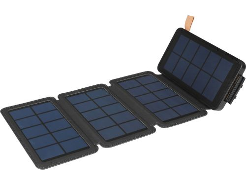 Sandberg Solar 4Panel Powerbank 12000 Is A High-Capacity Powerbank And A Foldaway Solar Panel.