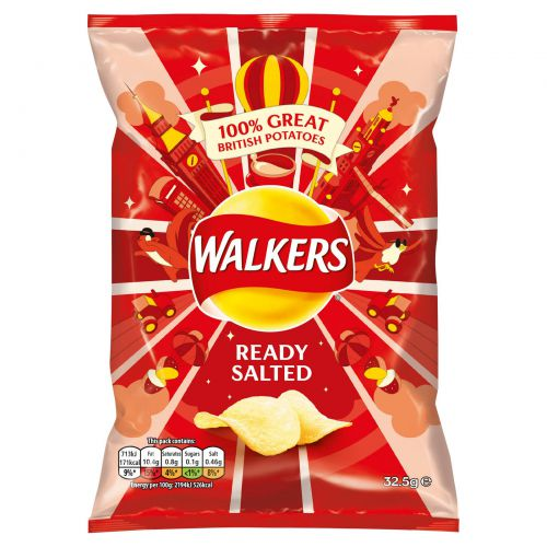 Walkers Ready Salted Pk32