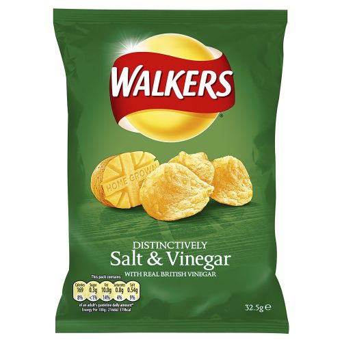 Walkers Salt & Vinegar Pk32