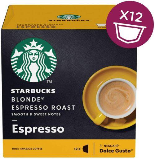 STARBUCKS for Dolce Gusto Machines Espresso Blonde PK3