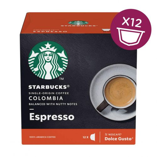 STARBUCKS by Dolce Gusto Espresso Dark Roast PK3