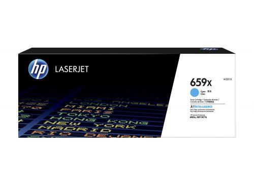 HP 659X Cyan High Yield Toner Cartridge 29K pages for HP LaserJet Enterprise MFP M776 / M856 - W2011X