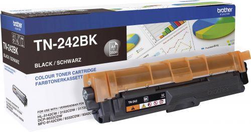 OEM Brother TN-242BK Black 2500 Pages Original Toner