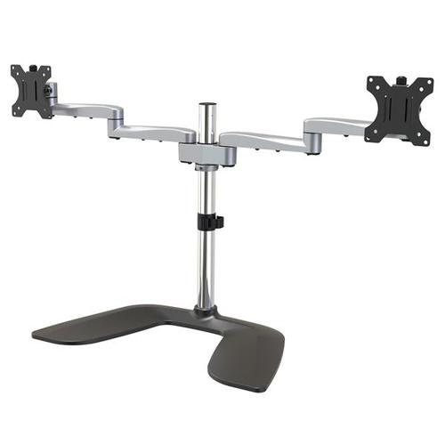Up to 32in Dual Monitor Desk Stand