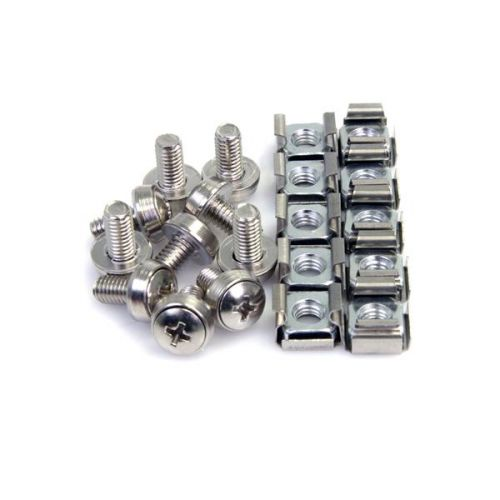 100x M6 Mounting Screws and Cage Nuts