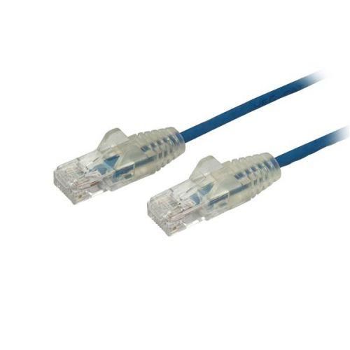 1.5m Blue Slim CAT6 Patch Cable