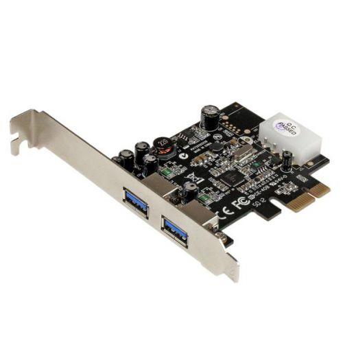 2 Port PCIe USB3 Card Adapter UASP LP4