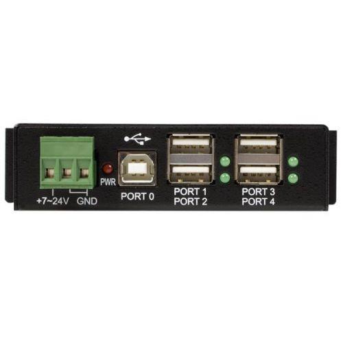 Mountable 4 Port Rugged Ind USB Hub ESD USB Hubs 8STST4200USBM