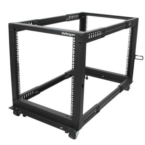 12U Open Frame 4 Post Server Rack