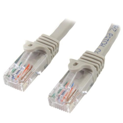 10m Grey Snagless Cat5e Patch Cable