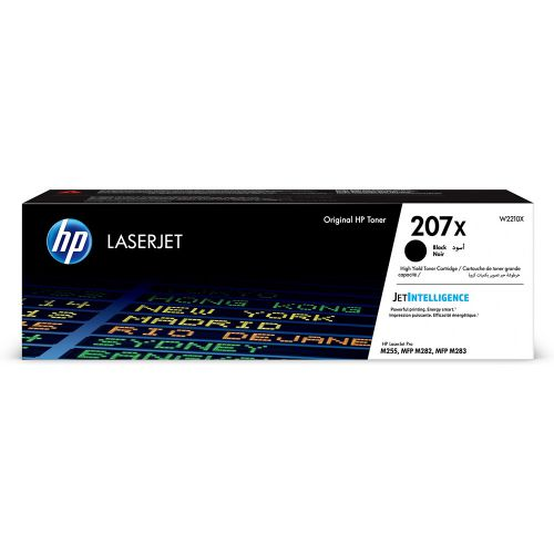 HP W2210X 207X Black Toner 3.15K
