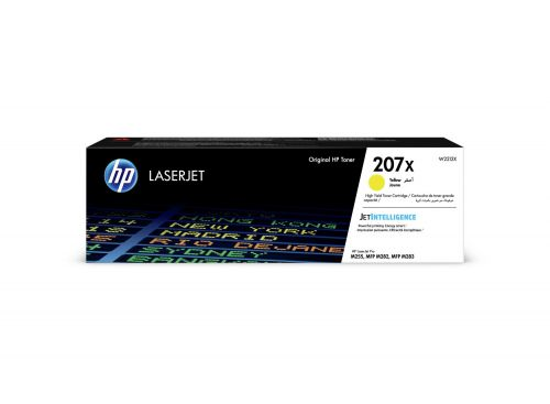 HP W2212X 207X Yellow Toner 2.45K