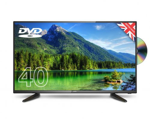 Cello C40227FT2 40 inch LED HD TV with DVD Player Black