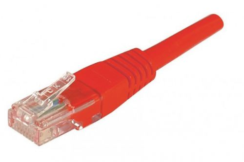 0.5m RJ45 UUTP Cat6 Red Patch Cable