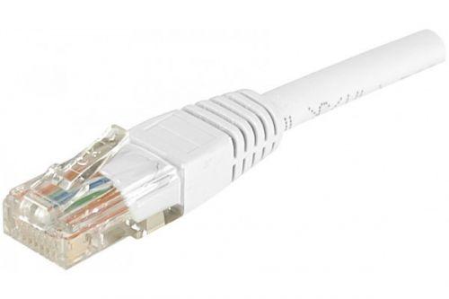 0.5m RJ45 UUTP Cat.6 White Patch Cable