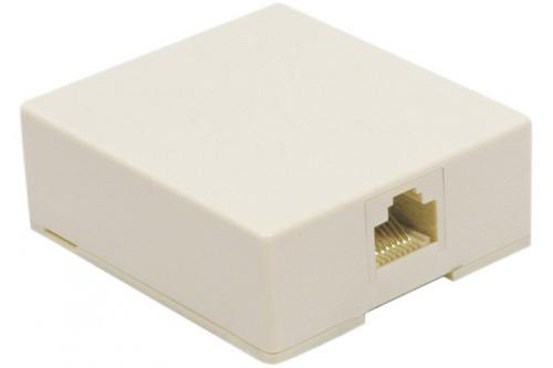 ProConnect RJ45 1 Port Wall Box Grey