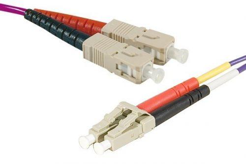 8m Fibre OM3 LSZH 50 125 SCLC Cable