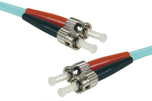 25m Fibre OM3 50 125 Aqua LSZH STST Lead
