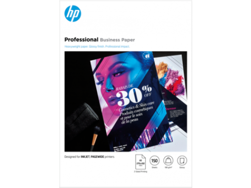 Hewlett Packard Inkjet Photo Paper Glossy A3 180gsm Ref 7MV84A [150 sheets]