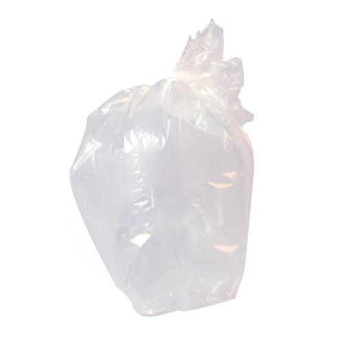 ValueX Clear Refuse Sack Heavy Duty 18kg (Pack 100)