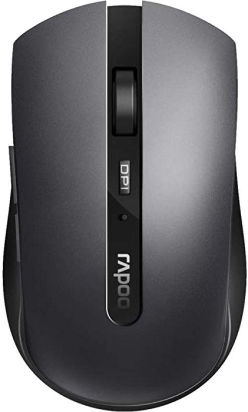 7200M Wireless 1600 DPI Dark Grey Mouse