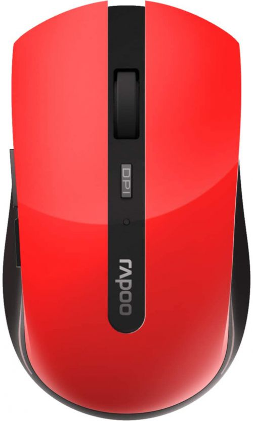7200M Multi Mode 1600 DPI Red Mouse