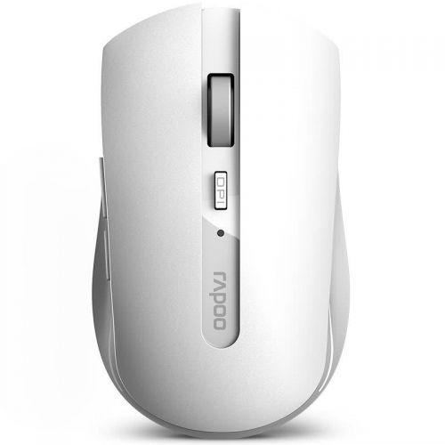 7200M RF White Wireless 1600 DPI Mouse