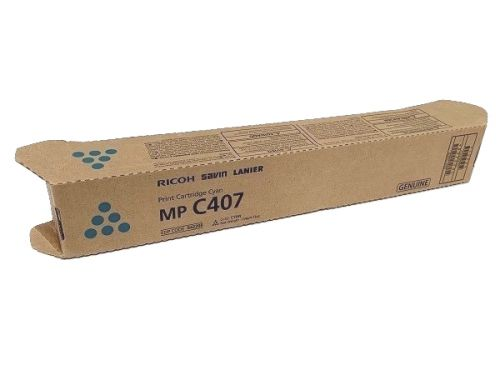 OEM Ricoh MPC407 Cyan Original Toner 842208