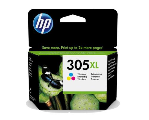 HP 3YM63AE 305XL HI YIELD CMY INK