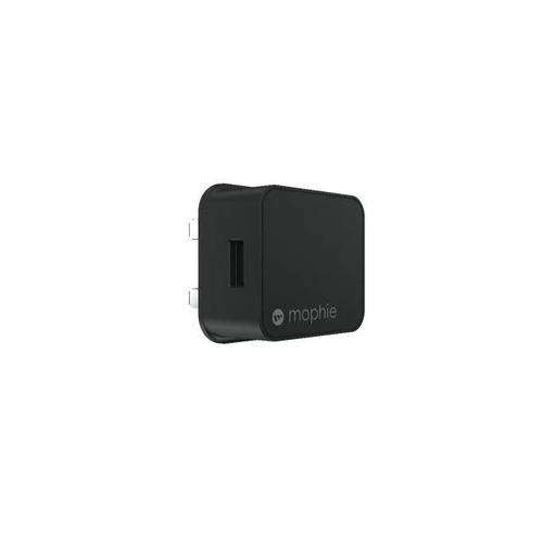 Mophie Wall Adapter USB-A 18W Black 409903237 Power Adaptors ZG09394