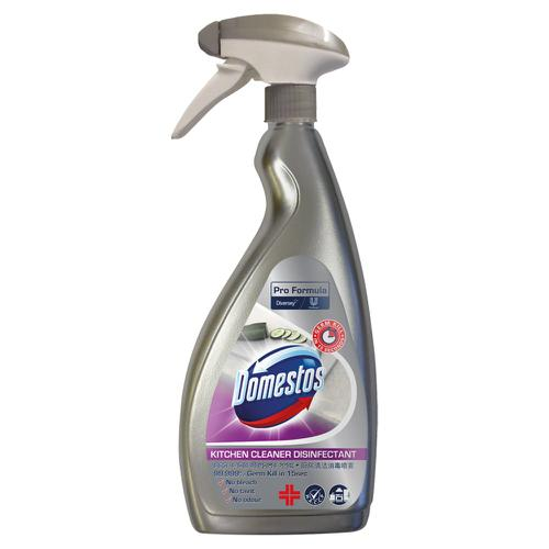 Domestos Kitchen Cleaner Disinfectant 750ml (Pack 6)
